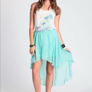 Dresses & Skirts - MINT HIGH LOW SKIRT